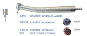 industrial lab handpiece